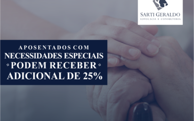 Aposentados com necessidades especiais podem receber adicional de 25%